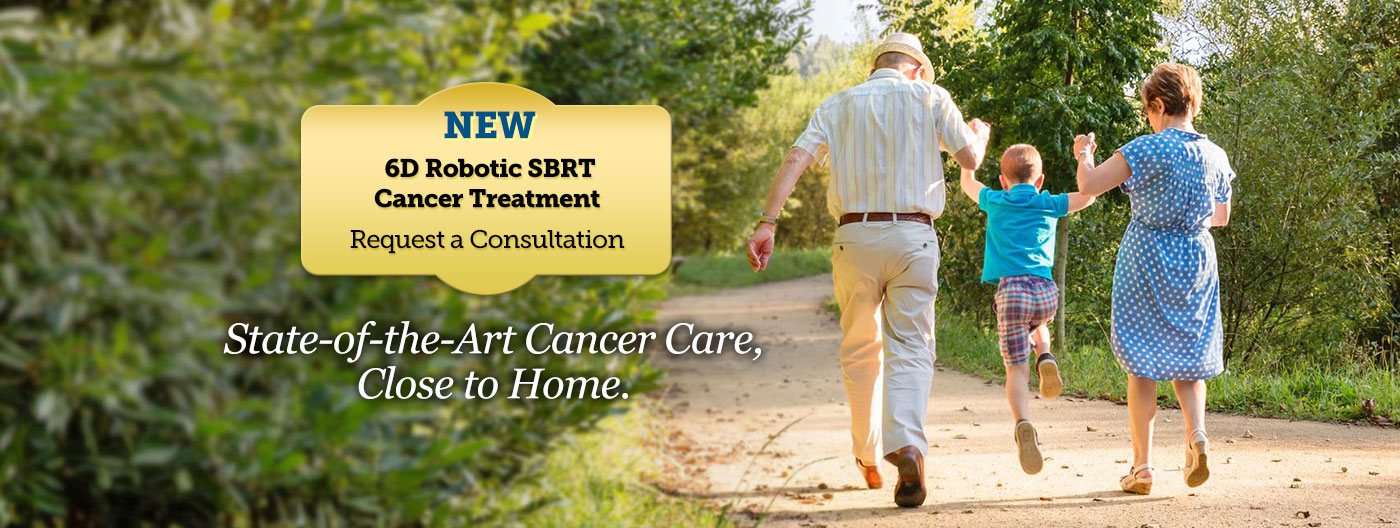 State of the art cancer care, close to home.